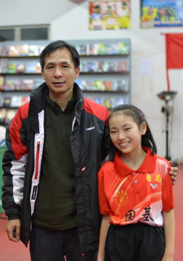 番禺区教育局_中国(広州)に卓球の勉強に行きました。伊東隆弘、伊東晶子 ...